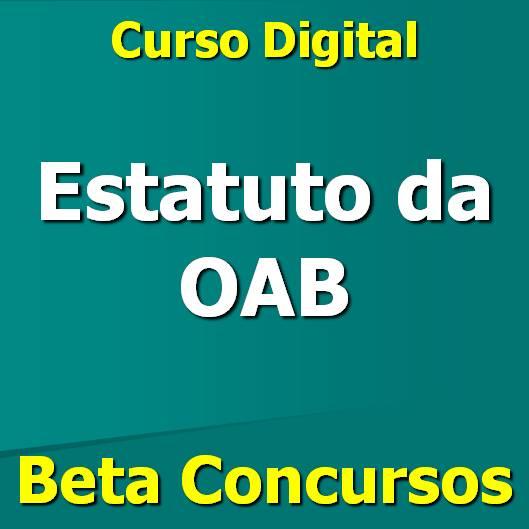 curso de Estatuto da OAB