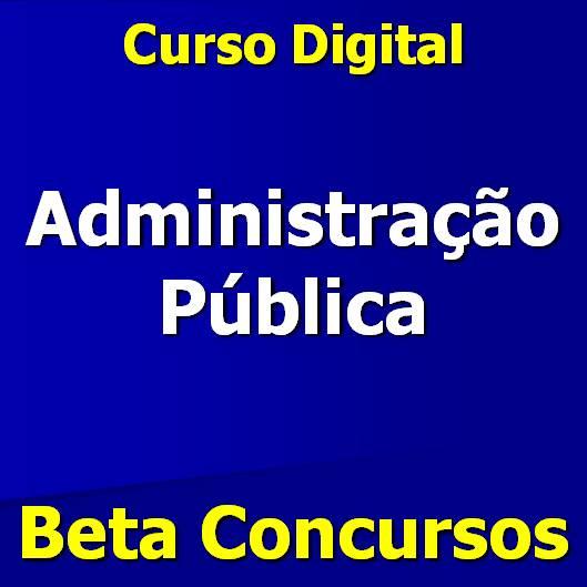 curso de Administração Pública