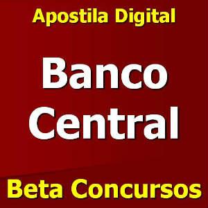 apostila banco central