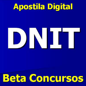 apostila dnit