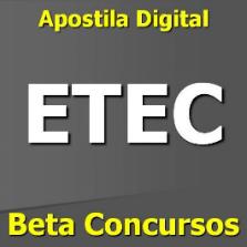 apostila vestibulinho etec